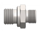 Stainless steel Coupling BSP VITON/Metric thread